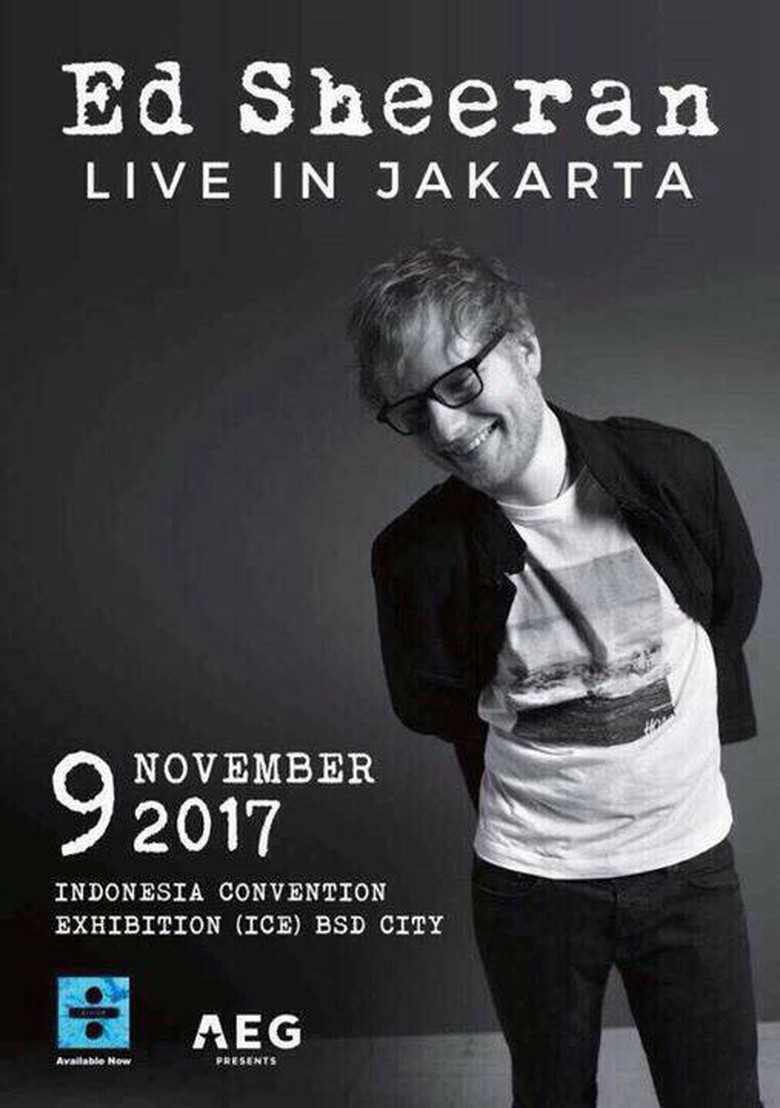 Ed Sheeran Akan Konser di Jakarta November