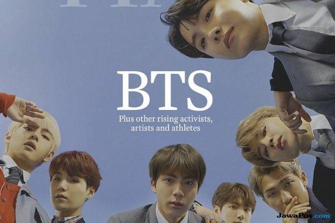 BTS Mendapat Penghargaan 'Next Generation Leaders' dari Time magazine